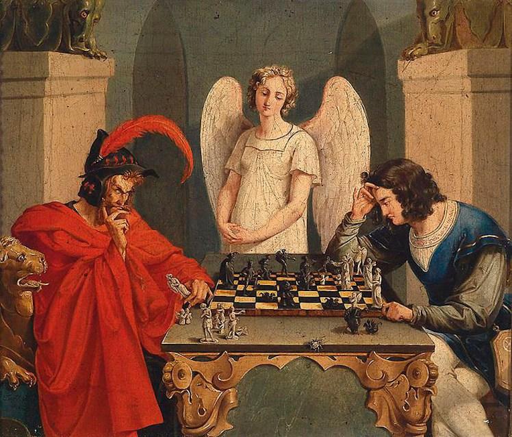 Portada-Mefistofeles-y-fausto-jugando-ajedrez