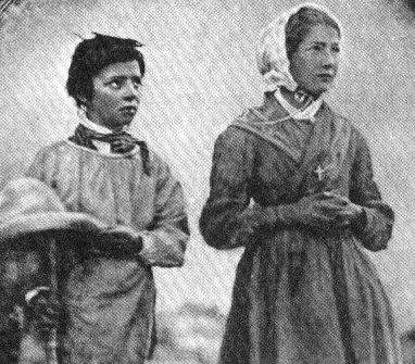 Melanie y Maximin (Pastores de La Salette - Francia)
