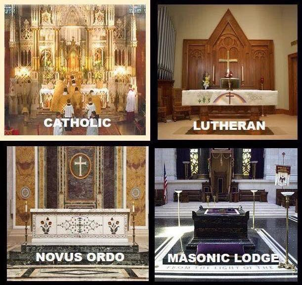 Misa Tridentina versus celebraciones nacidas de la masonería