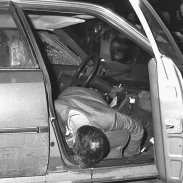 Roma, 20 de marzo de 1979. Carmine Pecorelli en el interior de un Citroën CX.