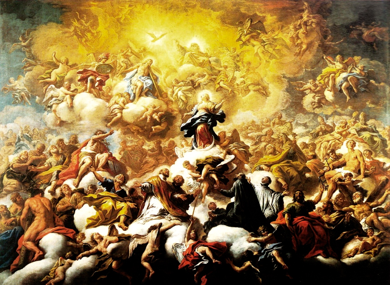 The Triumph and Glory of the Immaculate Conception, by Paolo De Matteis (1702-1705).
