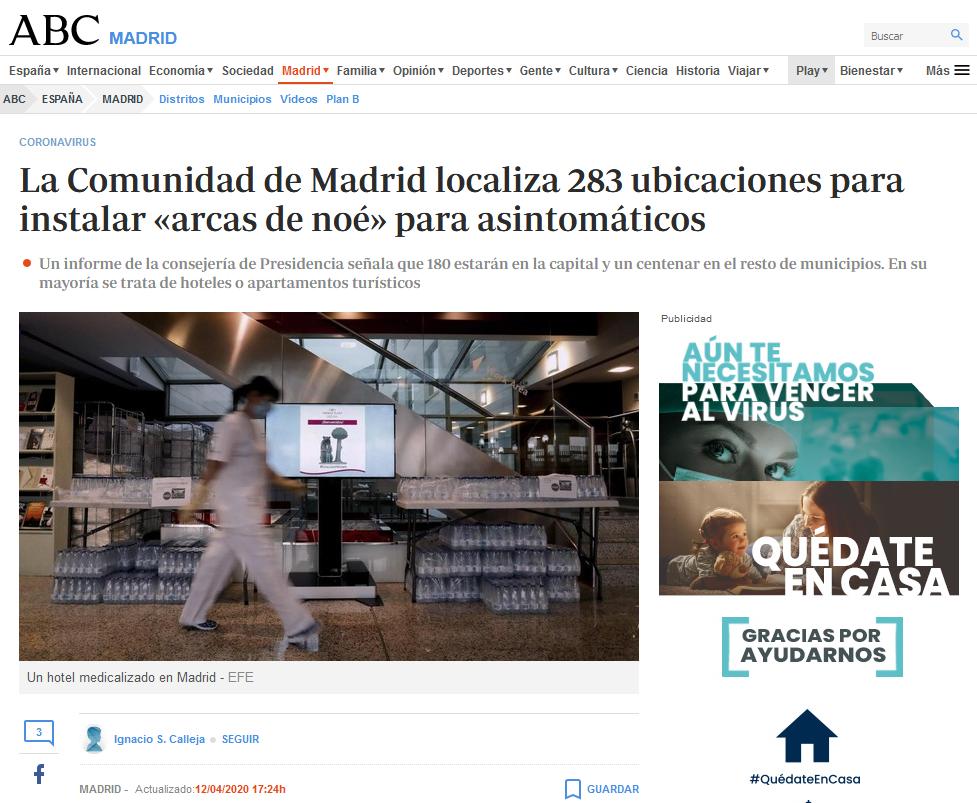 Screenshot_2020-04-16 La Comunidad de Madrid localiza 283 ubicaciones para instalar «arcas de noé» para asintomáticos