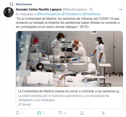 """Hospital """"de pandemias"""" Isabel Zendal (RTVE)"""