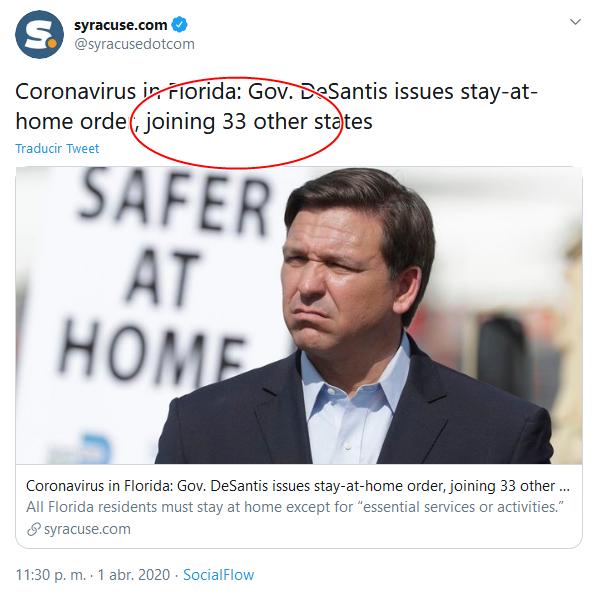 12e Screenshot_2020-04-02 (18) syracuse com en Twitter Coronavirus in Florida Gov DeSantis issues stay-at-home order, joining 3[...]