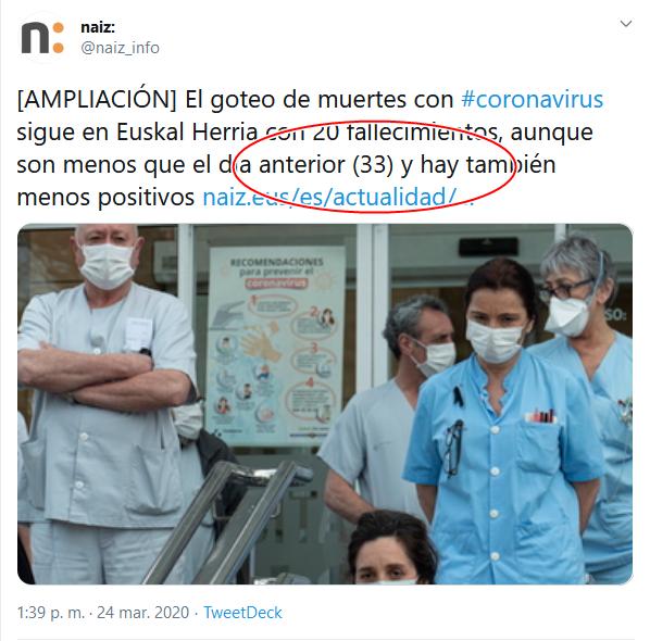 37 Screenshot_2020-04-02 (16) naiz en Twitter [AMPLIACIÓN] El goteo de muertes con #coronavirus sigue en Euskal Herria con 20 [...]