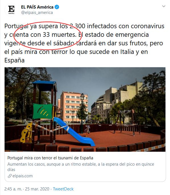 38 Screenshot_2020-04-02 (16) EL PAÍS América en Twitter Portugal ya supera los 2 300 infectados con coronavirus y cuenta con [...]