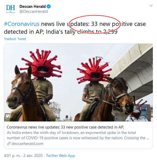 7b Screenshot_2020-04-02 (18) Deccan Herald en Twitter #Coronavirus news live updates 33 new positive case detected in AP; Ind[...]
