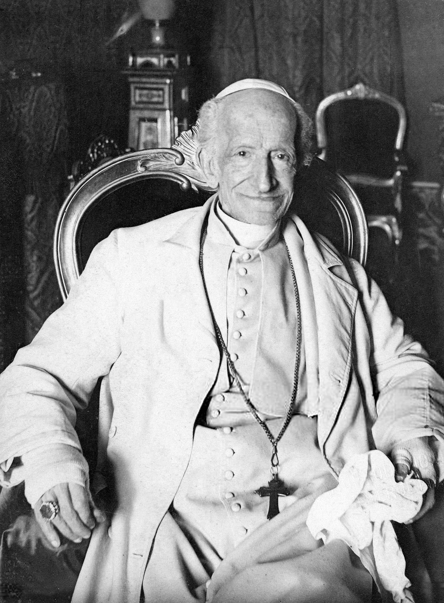 Papa León XIII (Retrato de 1887).
