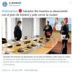 Salvador Illa muestra su desacuerdo con el plan de Madrid y pide cerrar la ciudad (BQ 2)