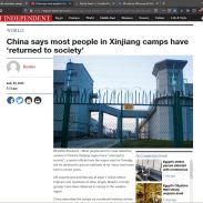Campos de re-educación en China (2)