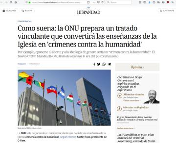 """ONU - Entronización del Antricisto como """"Papa y Emperador"""" (Nª Sra de La Salette) (07feb.2019)"""